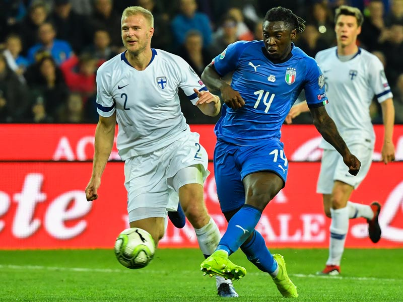 ยูโร 2020 รอบคัดเลือก : อิตาลี 2-0 ฟินแลนด์