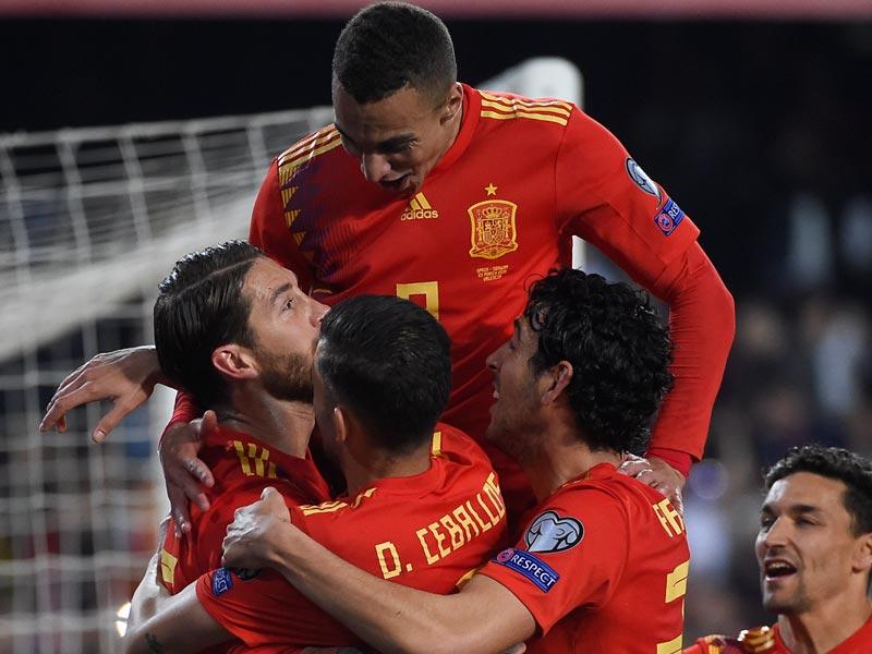 ยูโร 2020 รอบคัดเลือก : สเปน 2-1 นอร์เวย์