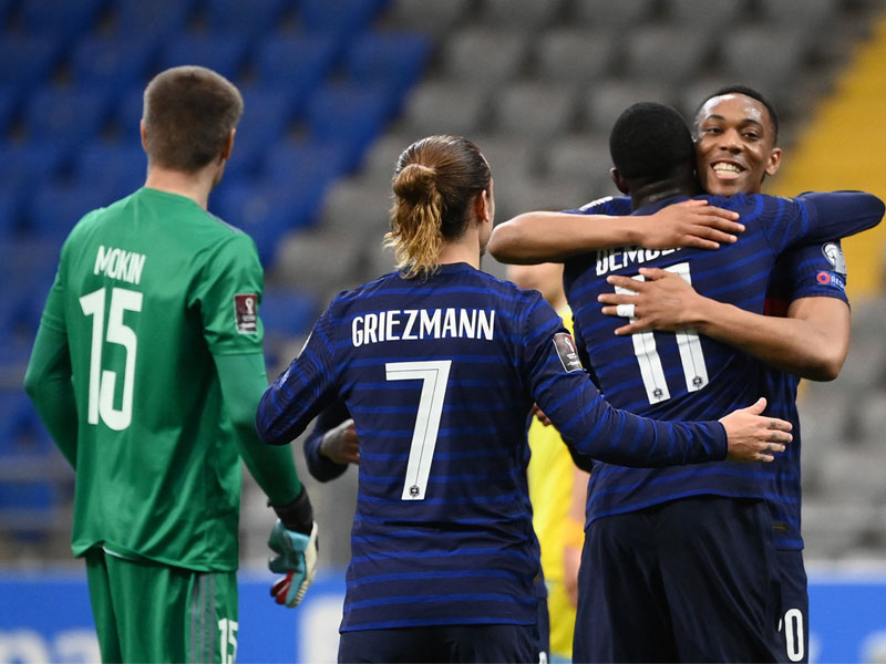 ฟุตบอลโลก 2022 รอบคัดเลือก : คาซัคสถาน 0-2 ฝรั่งเศส