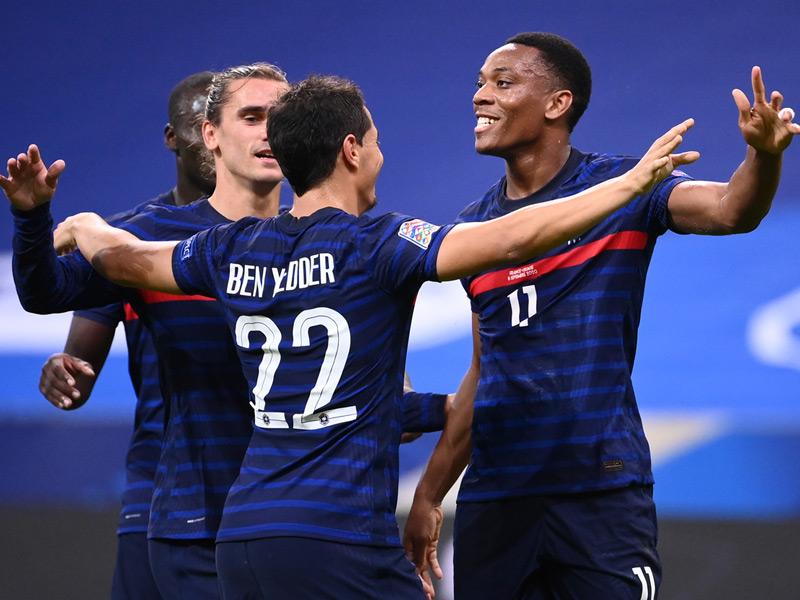 ยูฟ่า เนชั่นส์ ลีก : ฝรั่งเศส 4-2 โครเอเชีย