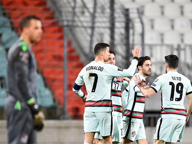 ฟุตบอลโลก 2022 รอบคัดเลือก : ลักเซมเบิร์ก 1-3 โปรตุเกส
