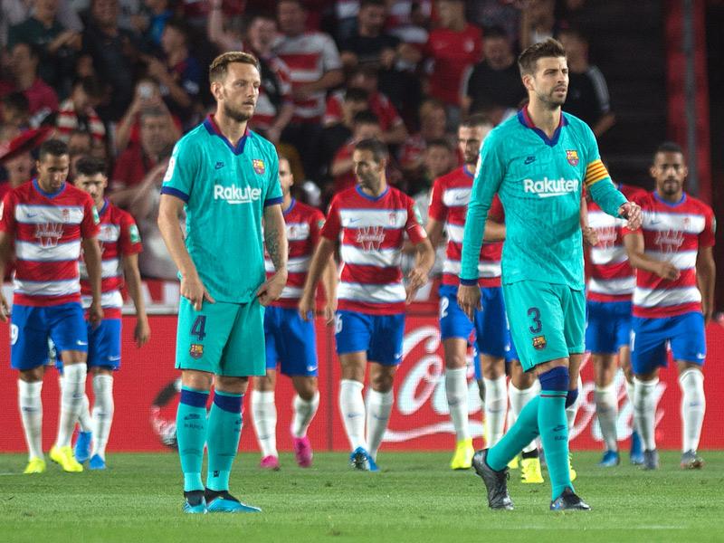 ลา ลีกา สเปน : กรานาด้า 2-0 บาร์เซโลน่า