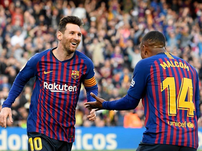 ลา ลีกา สเปน : บาร์เซโลน่า 2-0 เอสปันญ่อล