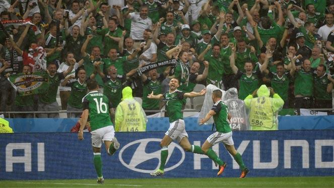 ยูโร 2016 : ยูเครน 0-2 ไอร์แลนด์เหนือ