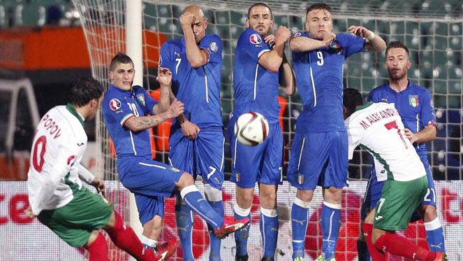 บัลแกเรีย 2-2 อิตาลี : อัซซูรี่หวิดสิ้นลาย