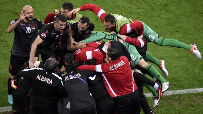 ยูโร 2016 : โรมาเนีย 0-1 แอลเบเนีย