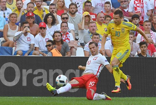 ยูโร 2016 : ยูเครน 0-1 โปแลนด์