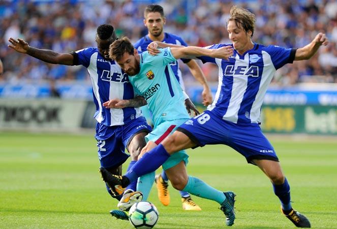 ลาลีกา สเปน : อลาเบส 0-2 บาร์เซโลน่า