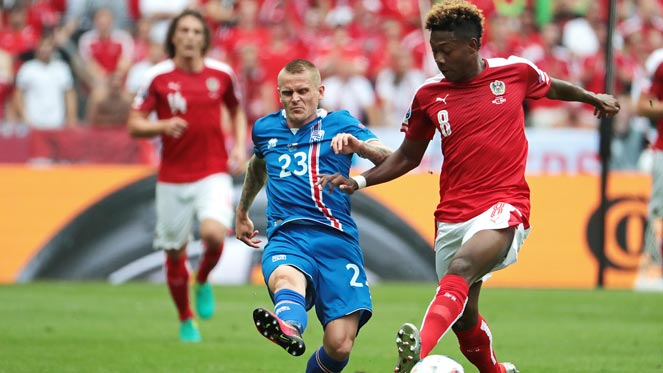 ยูโร 2016 : ไอซ์แลนด์ 2-1 ออสเตรีย