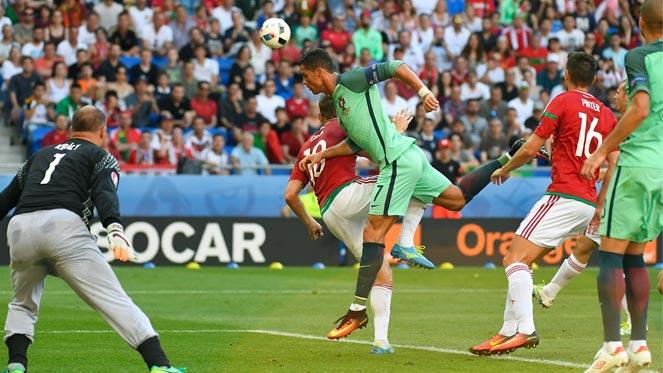 ยูโร 2016 : ฮังการี 3-3 โปรตุเกส