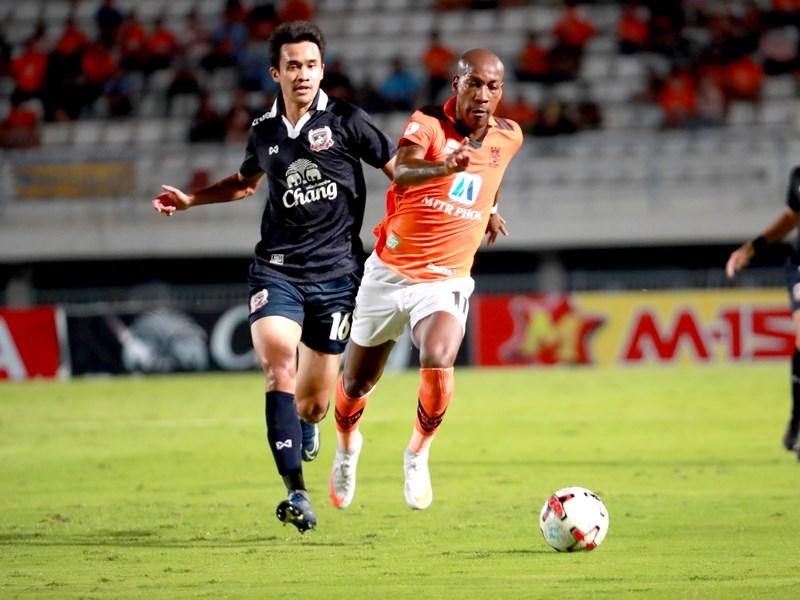 ไทยลีก : สุพรรณบุรี เอฟซี 1-2 ราชบุรี มิตรผล เอฟซี