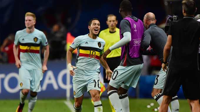 ยูโร 2016 : ฮังการี 0-4 เบลเยียม