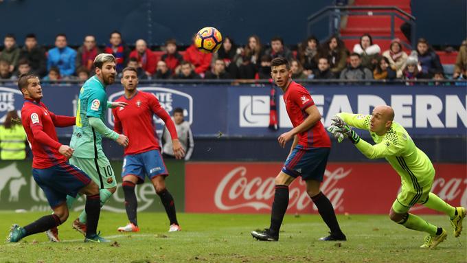 ลา ลีกา สเปน : โอซาซูน่า 0-3 บาร์เซโลน่า