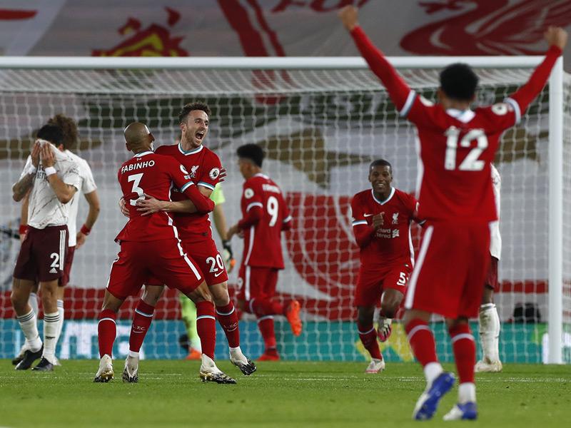 พรีเมียร์ลีก อังกฤษ : ลิเวอร์พูล 3-1 อาร์เซนอล