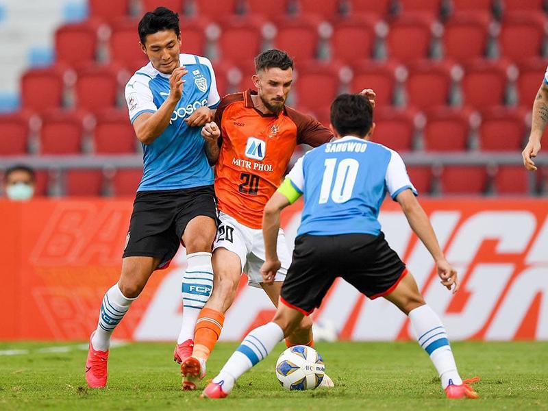 เอเอฟซี แชมเปี้ยนส์ ลีก : ราชบุรี มิตรผล 0-0 โปฮัง