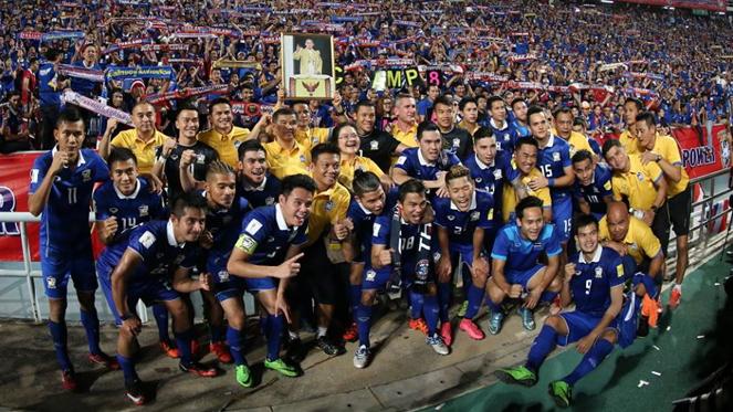 ฉุดไม่อยู่แล้ว !! ทีมชาติไทยอันดับขยับต่อเนื่องในฟีฟ่าแรงกิ้ง