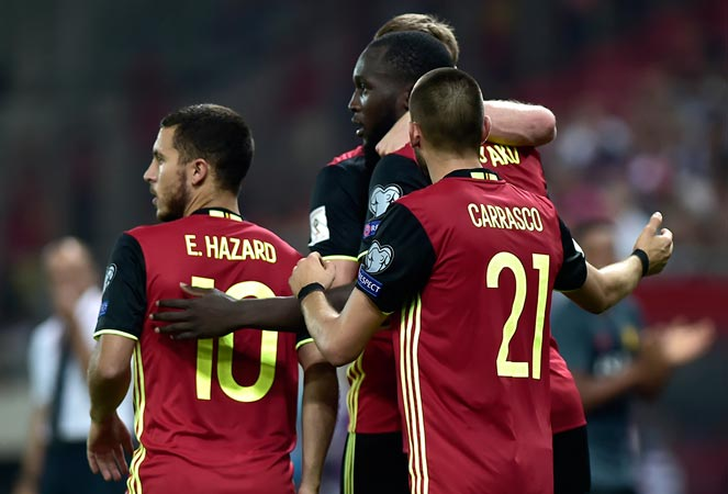 ฟุตบอลโลก 2018 รอบคัดเลือก : กรีซ 1-2 เบลเยียม