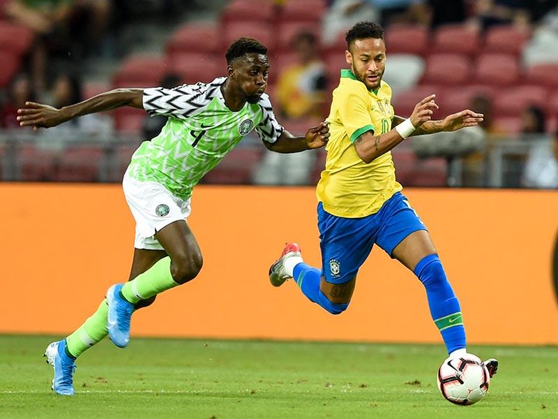 ฟุตบอลอุ่นเครื่อง : บราซิล 1-1 ไนจีเรีย