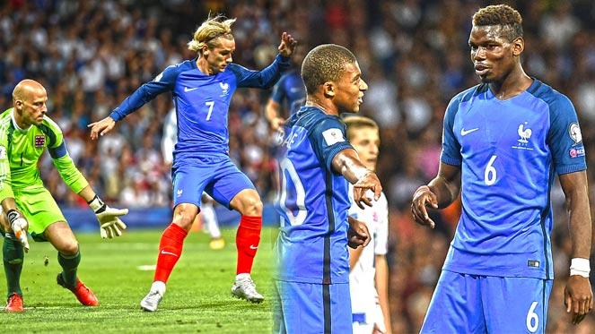 มีทั้ง เอ็มบ๊าปเป้, ป็อกบา, กรีซมันน์.. แต่ฝรั่งเศสเสมอลักเซมเบิร์ก 0-0