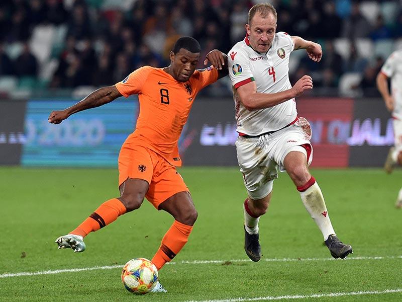 ยูโร 2020 รอบคัดเลือก : เบลารุส 1-2 ฮอลแลนด์