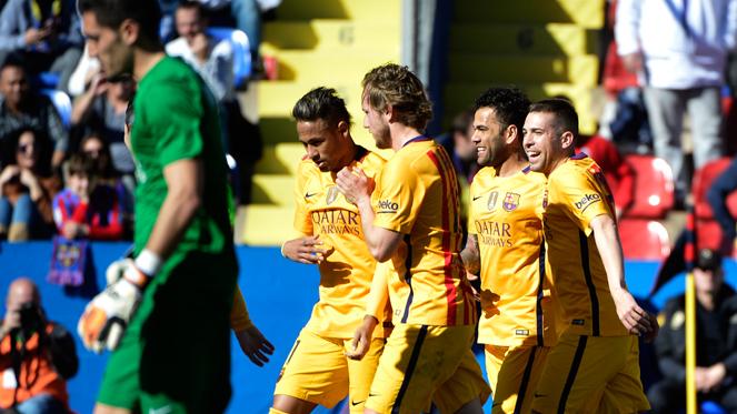 ลาลีกา สเปน : เลบันเต้ 0-2 บาร์เซโลน่า