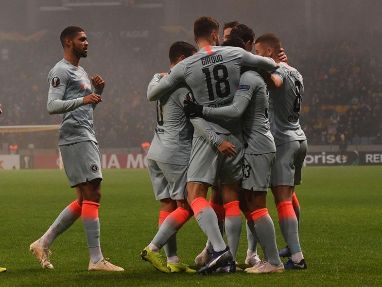 ยูโรป้า ลีก : บาเต้ 0-1 เชลซี
