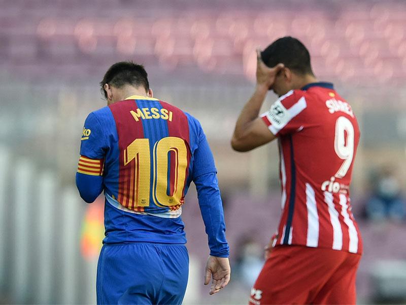ลา ลีกา สเปน : บาร์เซโลนา 0-0 แอต.มาดริด