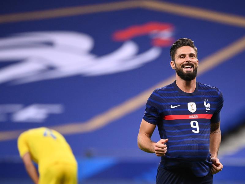 ฟุตบอลอุ่นเครื่อง : ฝรั่งเศส 7-1 ยูเครน