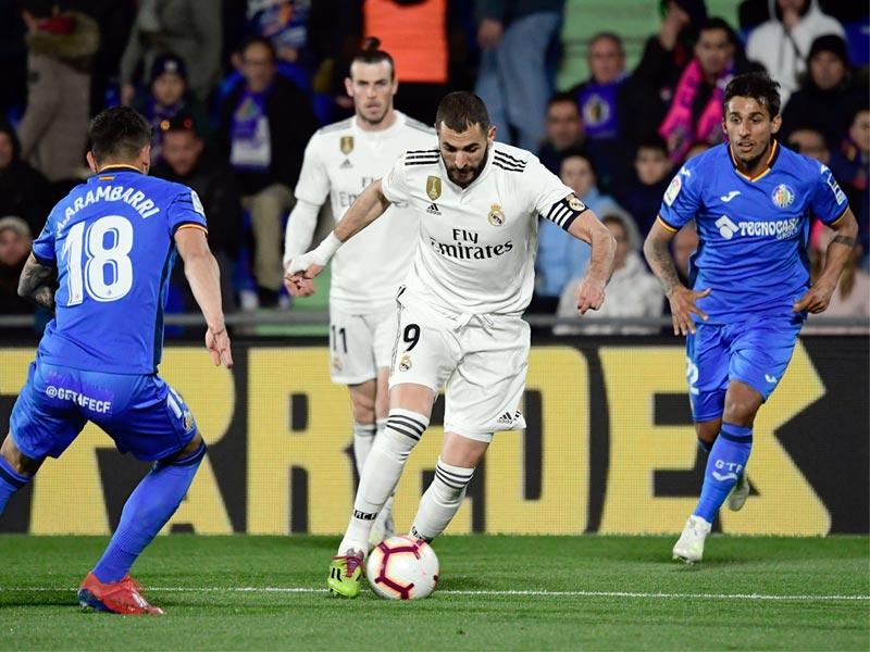 ลา ลีกา สเปน : เคตาเฟ่ 0-0 เรอัล มาดริด