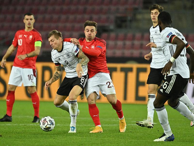ยูฟ่า เนชั่นส์ ลีก : เยอรมนี 3-3 สวิตเซอร์แลนด์