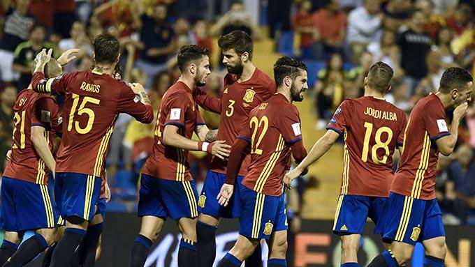 ฟุตบอลโลก 2018 รอบคัดเลือก : สเปน 3-0 แอลเบเนีย