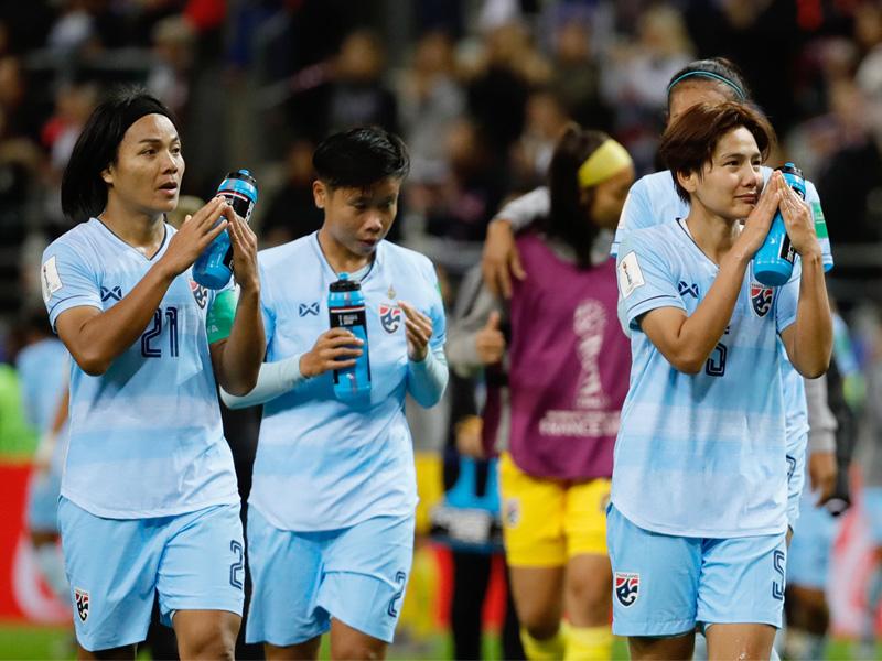 ฟุตบอลหญิงชิงแชมป์โลก 2019  : สหรัฐฯ 13-0 ทีมชาติไทย