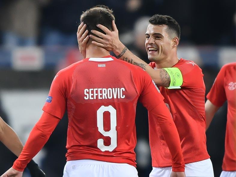 ยูฟ่า เนชั่นส์ ลีก : สวิตเซอร์แลนด์ 2-5 เบลเยียม