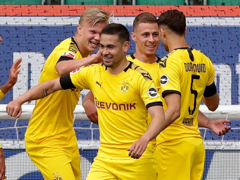 บุนเดสลีกา เยอรมนี : โวล์ฟบวร์ก 0-2 ดอร์ทมุนด์