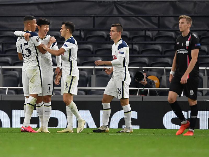 ยูฟ่า ยูโรป้า ลีก : สเปอร์ส 3-0 แอลเอเอสเค ลินซ์