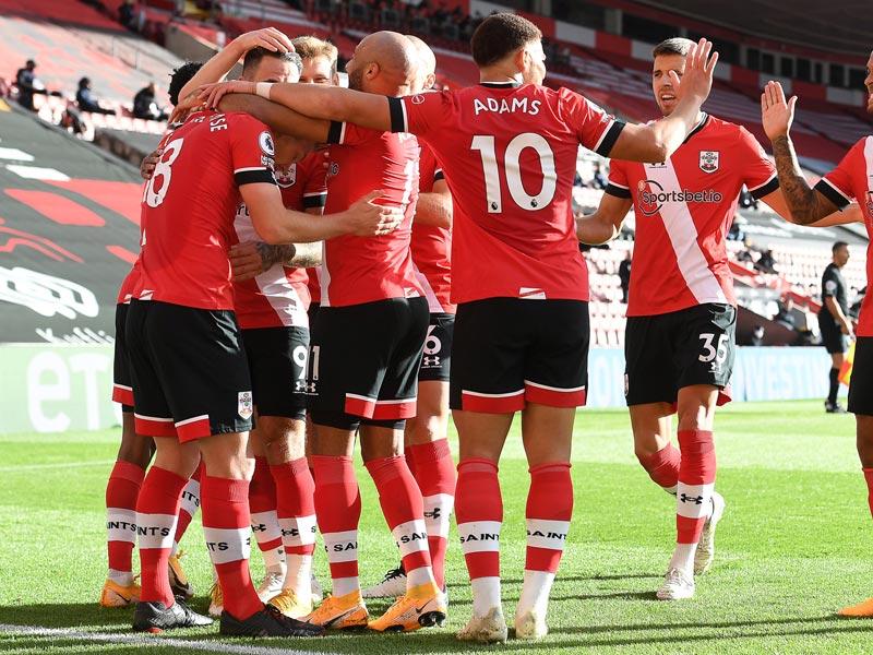 พรีเมียร์ลีก อังกฤษ : เซาธ์แฮมป์ตัน 2-0 เอฟเวอร์ตัน