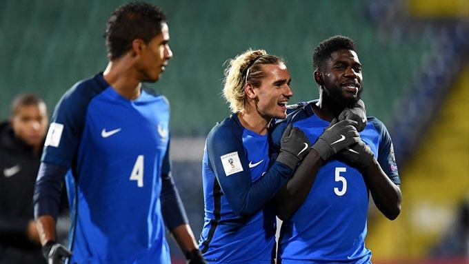 ฟุตบอลโลก 2018 รอบคัดเลือก : บัลแกเรีย 0-1 ฝรั่งเศส