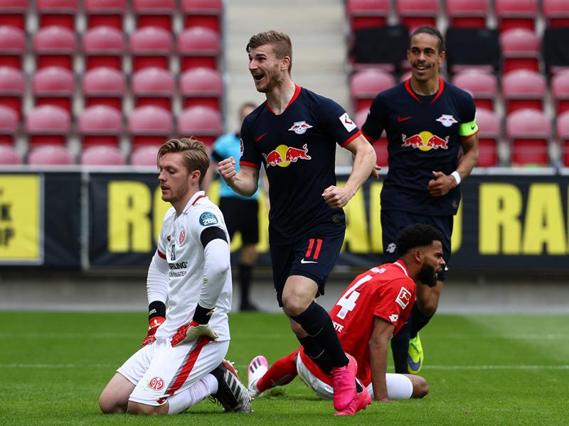 บุนเดสลีกา เยอรมนี : ไมนซ์ 05 0-5 ไลป์ซิก