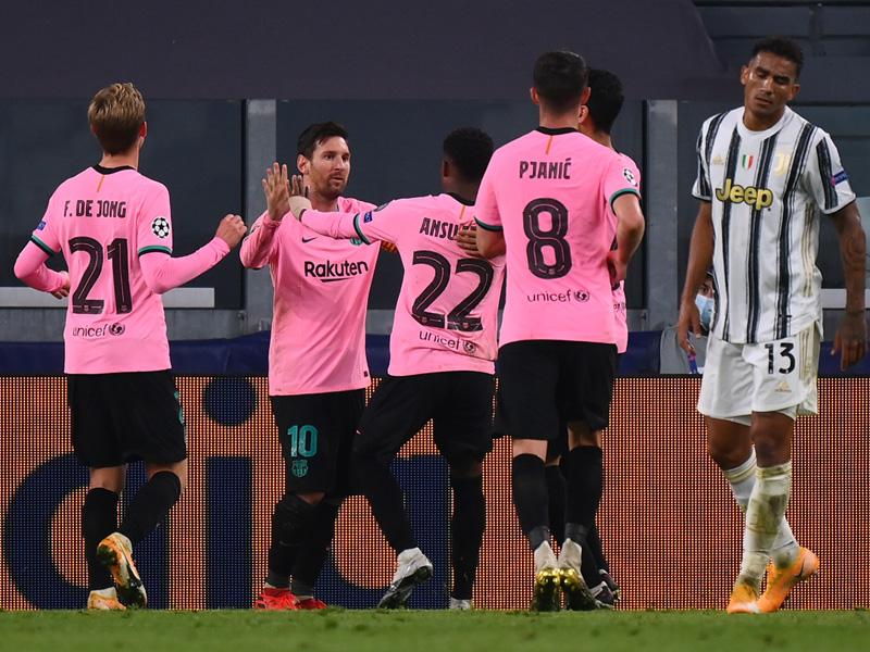 ยูฟ่า แชมเปี้ยนส์ ลีก : ยูเวนตุส 0-2 บาร์เซโลนา