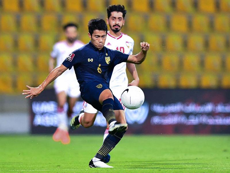 ฟุตบอลโลก 2022 รอบคัดเลือก โซนเอเชีย : ยูเออี 3-1 ทีมชาติไทย