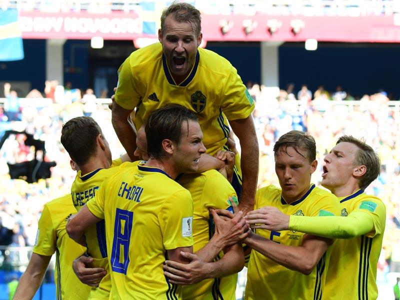 ฟุตบอลโลก 2018 : สวีเดน 1-0 เกาหลีใต้
