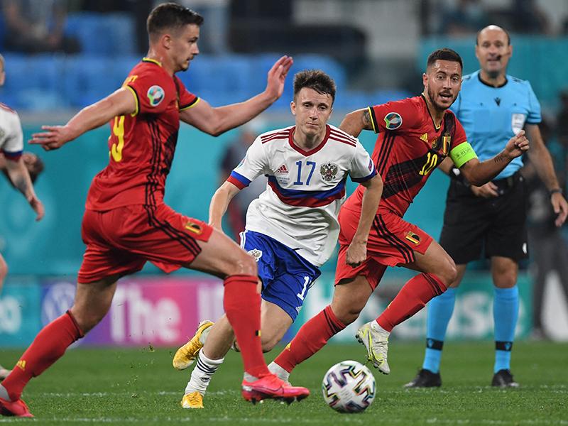 ยูโร 2020 : เบลเยียม 3-0 รัสเซีย
