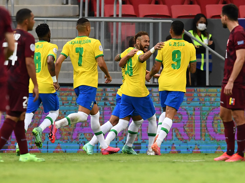 โกปา อเมริกา 2021 : บราซิล 3-0 เวเนซุเอลา