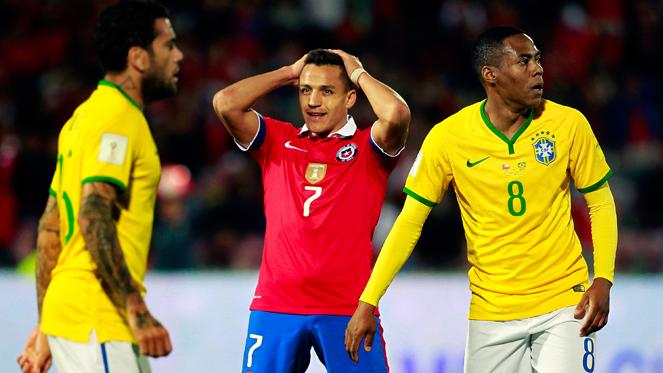 ชิลี 2-0 บราซิล : แซมบ้า ซ่าไม่ออก