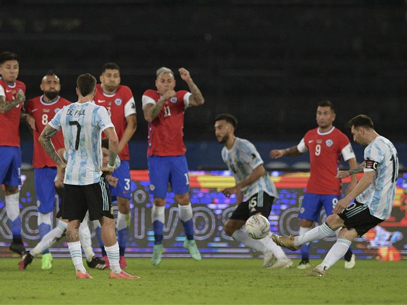 โกปา อเมริกา 2021 : อาร์เจนตินา 1-1 ชิลี