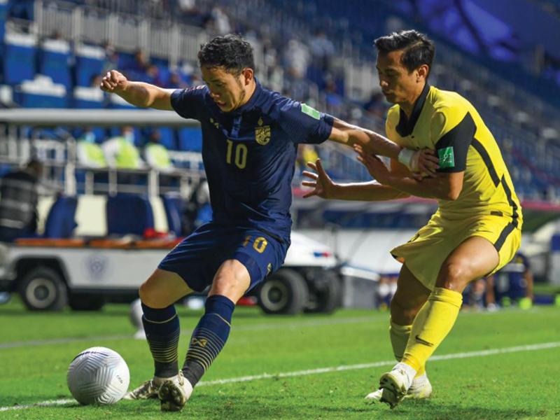 ฟุตบอลโลก 2022 รอบคัดเลือก : ทีมชาติไทย 0-1 มาเลเซีย