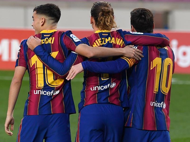 ลา ลีกา สเปน : บาร์เซโลนา 5-2 เรอัล เบติส