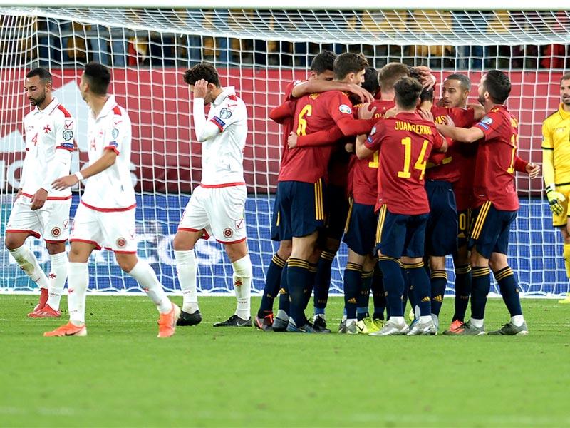 ยูโร 2020 รอบคัดเลือก : สเปน 7-0 มอลตา