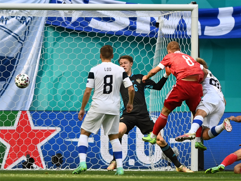 ยูโร 2020 : ฟินแลนด์ 0-1 รัสเซีย