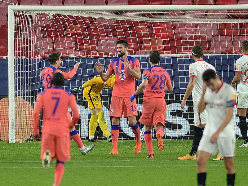 ยูฟ่า แชมเปี้ยนส์ ลีก : เซบีย่า 0-4 เชลซี
